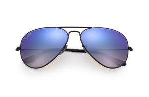 Солнцезащитные очки Ray-Ban Aviator Flash Lenses RB3025 002/4O
