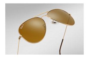 Солнцезащитные очки Ray-Ban Aviator Large Metal RB3025 001/57