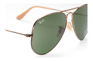 Солнцезащитные очки Ray-Ban Aviator Large Metal Distressed RB3025 177/4E