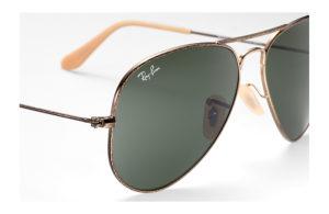 Солнцезащитные очки Ray-Ban Aviator Large Metal Distressed RB3025 177
