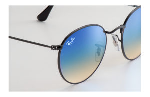 Солнцезащитные очки Ray-Ban Round Metal Flash Lenses RB3447 002/4O
