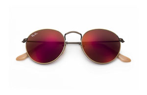 Солнцезащитные очки Ray-Ban Round Metal Flash Lenses RB3447 167/2K
