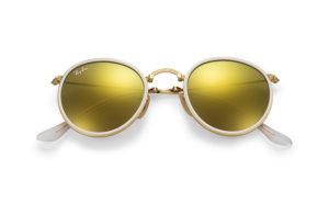 Солнцезащитные очки Ray-Ban Folding Round Metal RB3517 001/93