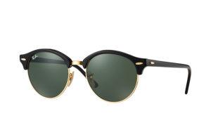 Солнцезащитные очки Ray-Ban Clubround Double Bridge RB4346 901