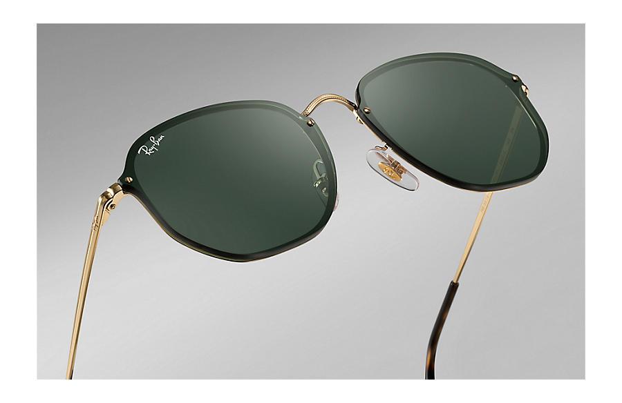 Солнцезащитные очки Ray-Ban Blaze Hexagonal RB3579N 001 71   Nofake.ua fd9b375fd9