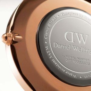 Daniel Wellington Classic Black Roselyn